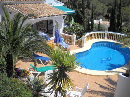 Villa mit Pool Moraira