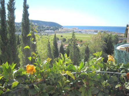 Villa mit Blick auf das Meer